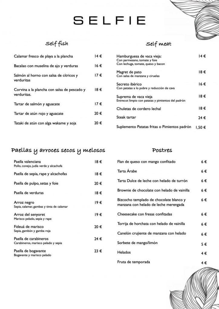 carta-selfie-restaurante